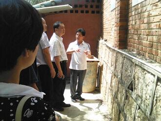 呈贡国土分局开展依法治区宣传工作