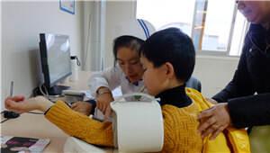 给特殊孩子的爱!仁康体检中心免费为自闭症孩子体检