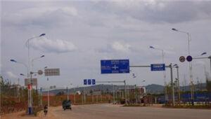 经开区启动3条道路建设 东盟森林打通连接彩云路
