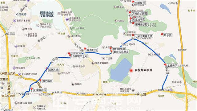 盘龙官渡联手发力 寺瓦路将成东市区开发重点
