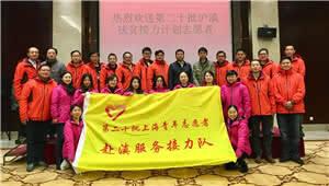 第二十批沪滇扶贫接力计划志愿者欢送座谈会举行