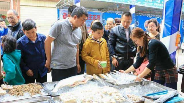 美食闹新春 河口首届海鲜美食节开幕