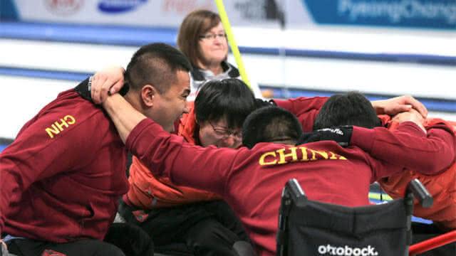 中国挺进冬残奥会轮椅冰壶决赛