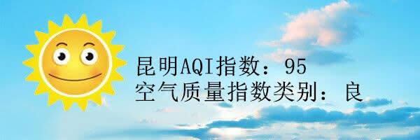 昆明空气质量报告|3月20日