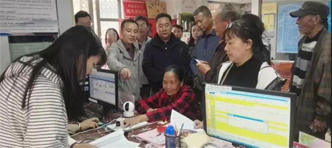 云南省社保局调研盘龙区生物识别系统运用工作