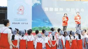 实施免疫规划 云南每年让50万儿童免受传染病危害