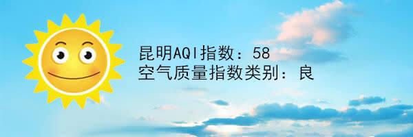 昆明空气质量报告|5月15日