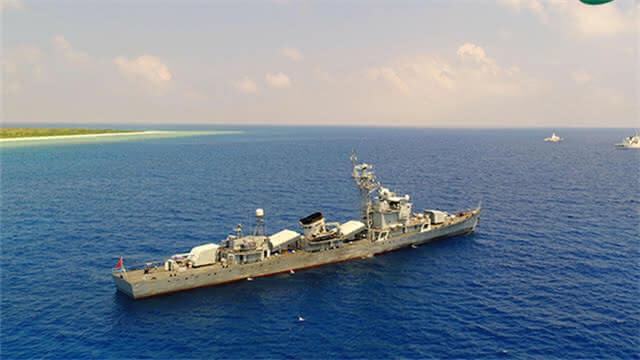 5天4夜!军警民联合编队首次巡逻西沙岛礁