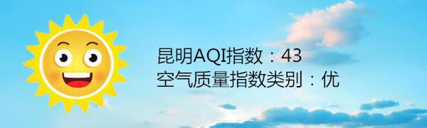 昆明空气质量报告 5月25日