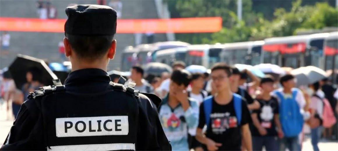 昆明警方圆满完成2018年高考安保工作