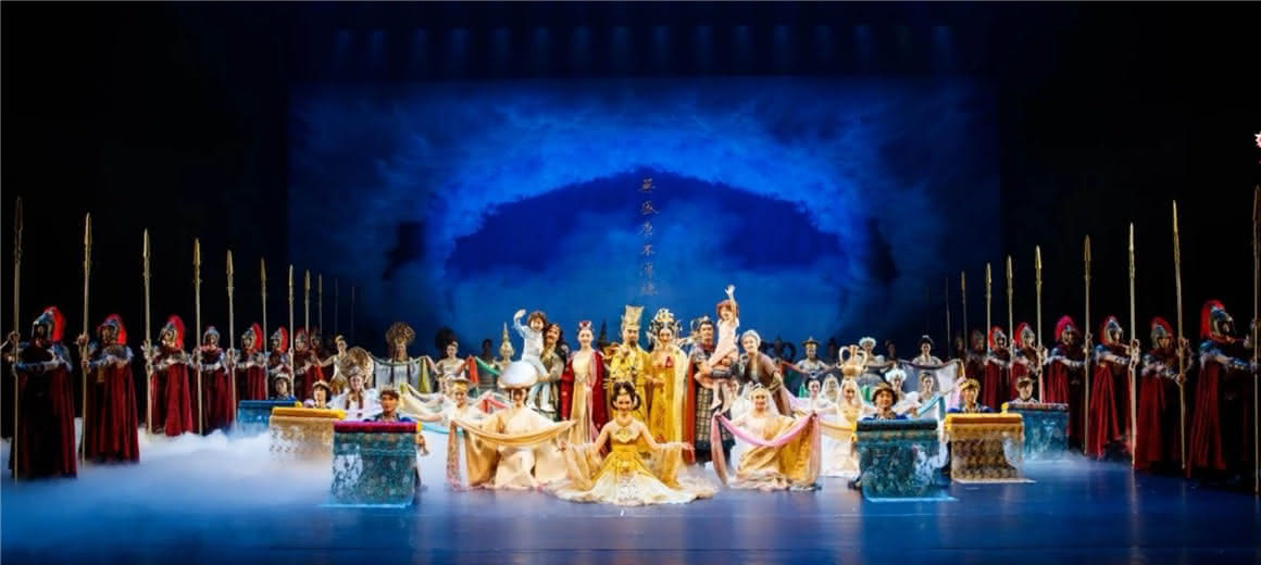 穿越回大唐 《传丝公主》登陆云南省大剧院