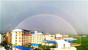 拍客|雨过天晴!楚雄今天的双彩虹太罕见