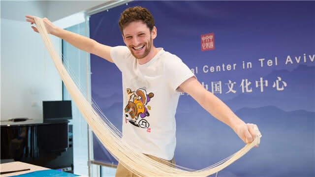 中国味道!以色列民众体验中国美食文化