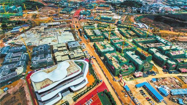 热火朝天!澄江县广龙旅游小镇建设有序推进