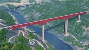 快了!中老铁路元江特大桥架梁 昆明坐火车3小时到西双版纳
