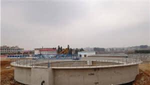 曲靖城南片区污水处理厂试运营