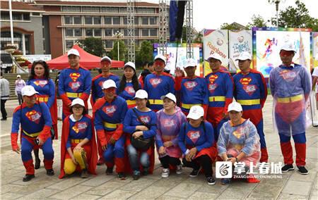 《爱心超人》,摄影:李杨涛。