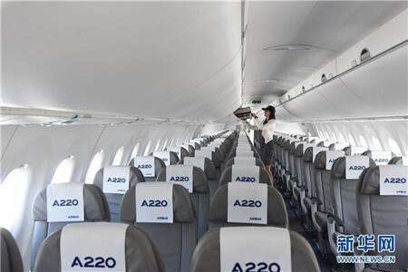 欧洲飞机制造巨头空中客车公司10日宣布推出A220系列飞机。