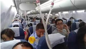 飞行员吸烟致乘客遭遇