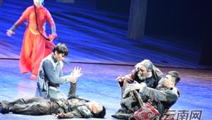 舞剧《人·参》在云南省大剧院上演