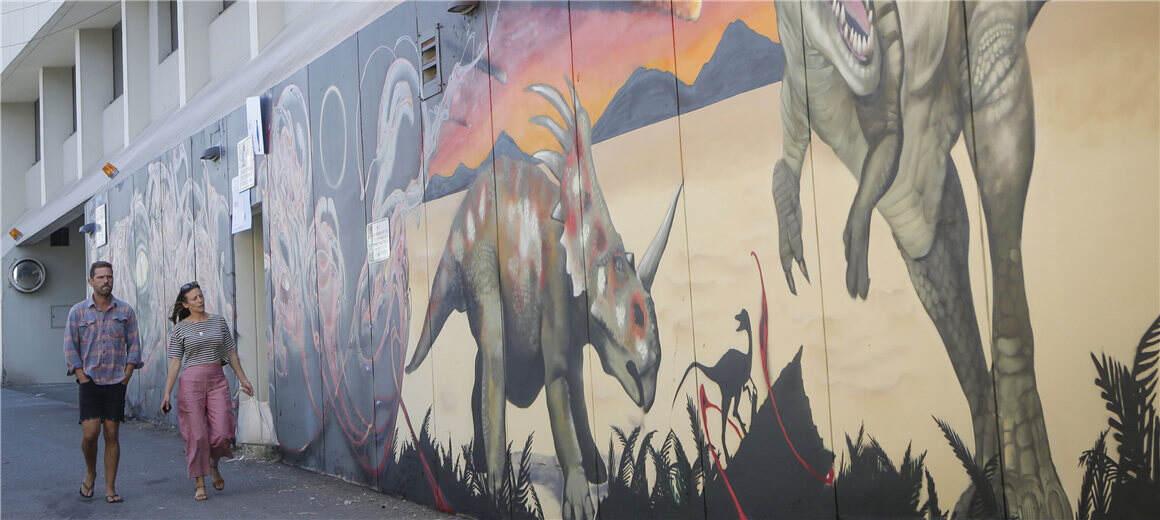 酷!温哥华举办第三届街头壁画节