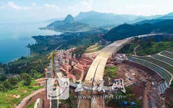 澄川高速仙湖立交建设稳步推进