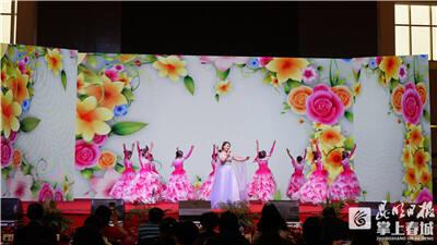 云南医药健康职业学院学生舞台献礼祝福老师