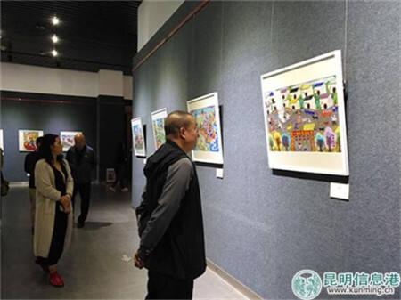 纪念改革开放40周年 农民画作品亮相市博物馆