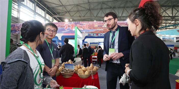 """""""绿投会""""为云南绿色食品""""搭金桥"""""""