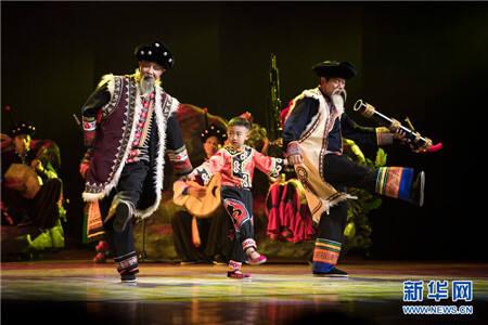 楚雄彝族音乐舞蹈服饰展演《彝乡之恋》闪耀首都舞台