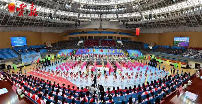 曲靖市第四届运动会暨第二届全民健身运动会开幕