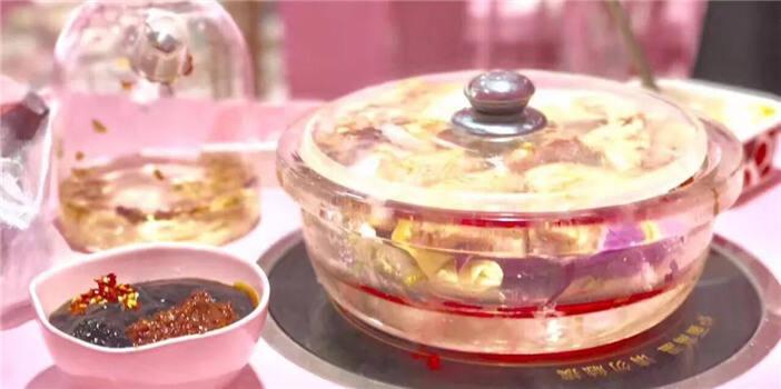 水晶锅里的粉色少女梦