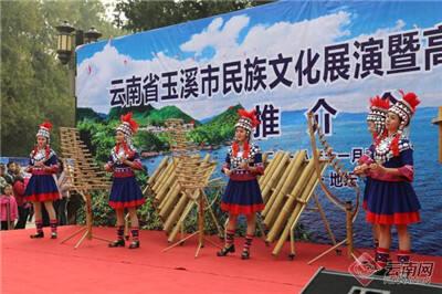 """""""玉汝于成•溪达四海"""" 玉溪市民族文化展演在京举办"""