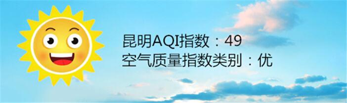 昆明空气质量报告|11月11日