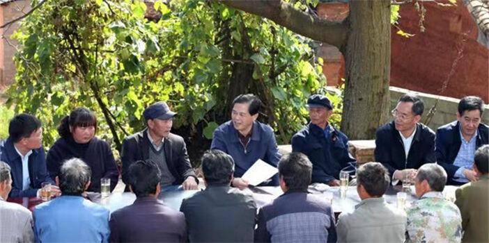 陈豪在曲靖调研时强调:打赢打好深度贫困地区攻坚战