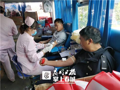 6.7万毫升!昆明盘龙区200余名公安民警参加献血