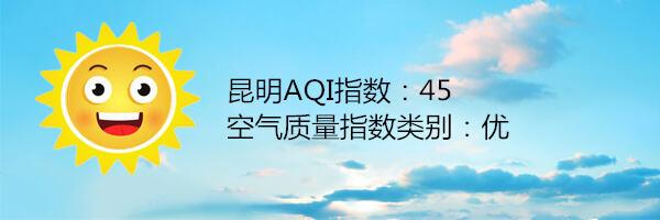 昆明空气质量报告|11月13日