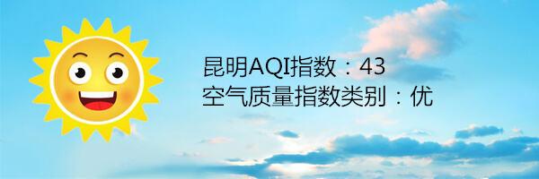 昆明空气质量报告 11月14日