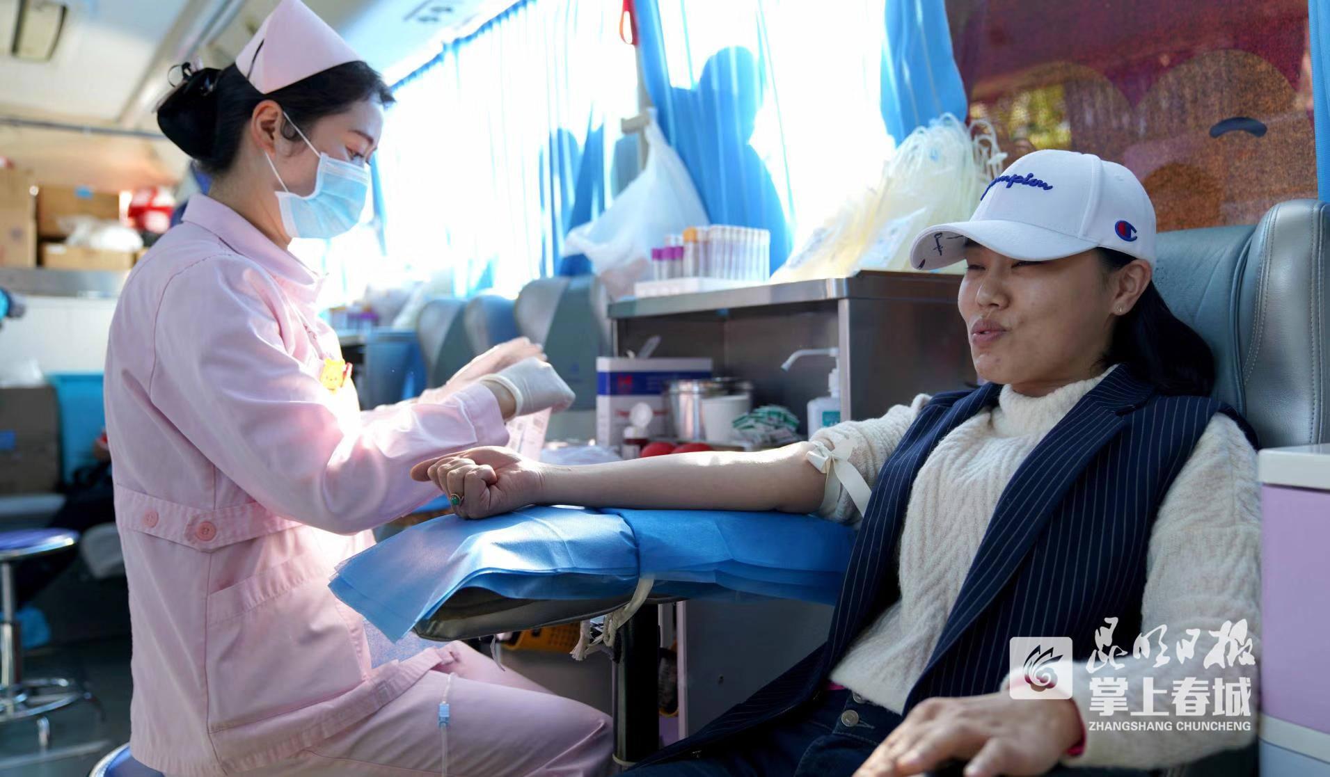 爱心汇聚!盘龙区教育系统教职工献血62300毫升