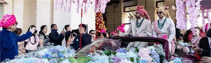 外交部搭桥!耗资2000万!印度富商滇池畔办婚礼!