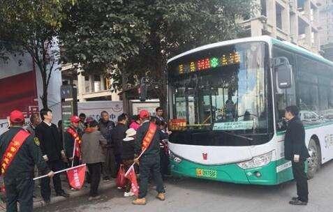 昆明公交五公司开展志愿服务活动