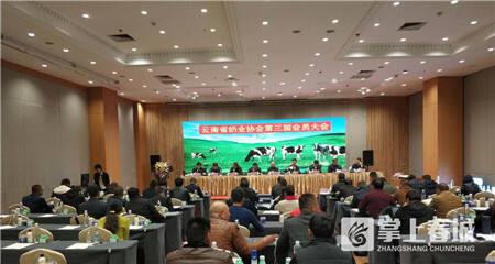 """省奶业协会第三届会员大会举行 雪兰优质乳成""""云南样本"""""""