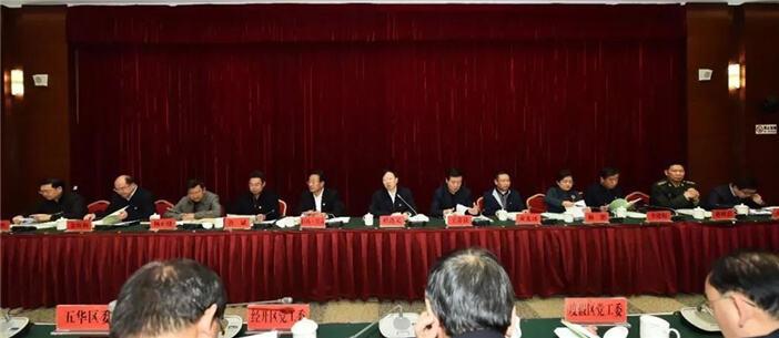 """30位书记党建期末考 程连元""""考官""""说了啥?"""