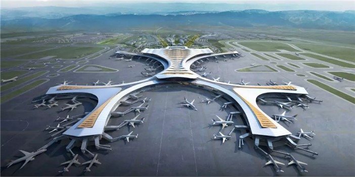 与T1交相辉映 昆明长水机场T2航站楼设计方案出炉