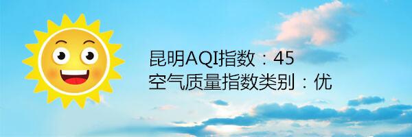 昆明空气质量报告 2月8日
