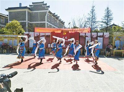 曲靖麒麟:春节活动丰富多彩