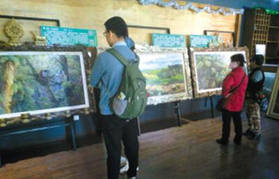 用艺术之美唤醒环保意识!刘永环保主义油画展亮相翠湖