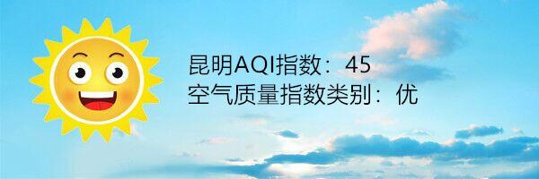 昆明空气质量报告|2月19日