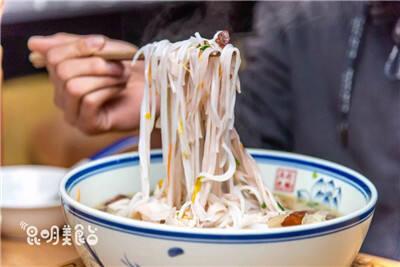 一无名小店 日卖一吨米线,吃过的都是大神级