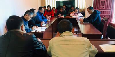富民县人社局专题学习《中国共产党纪律处分条例》